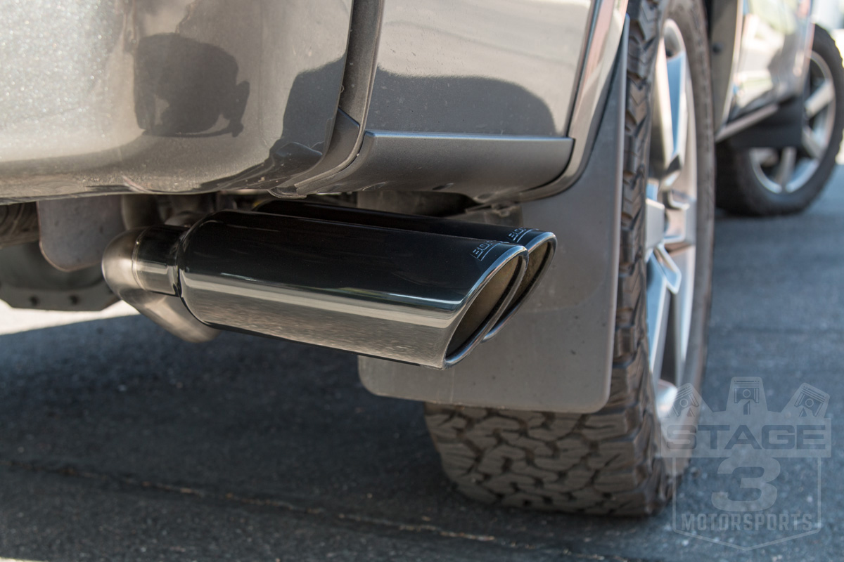 2015 2020 f150 borla touring black tip dual side exit cat back exhaust kit 140617bc