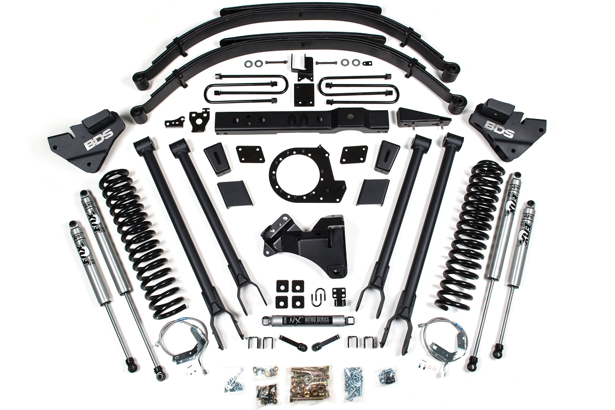 F250 Amp F350 4wd Bds 8 4 Link Suspension Lift