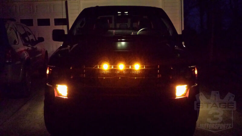 2001 F150 Lights Amber Raptor