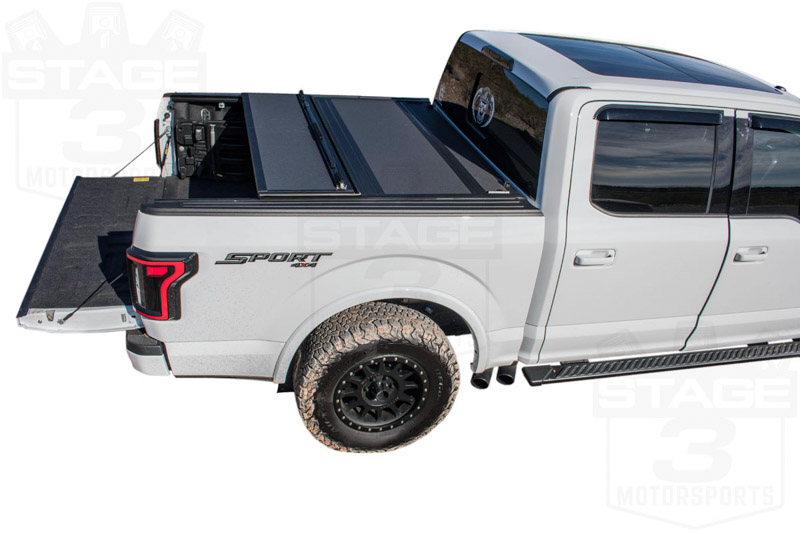 2015 2018 F150 5 5ft Bed Bakflip Mx4 Hard Folding Tonneau