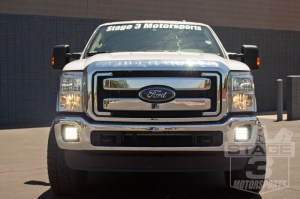 20112016 Ford F250F350 Q Series LED Complete Fog Light