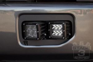 Rigid Industries Dual DSeries Fog Light Mounting Kit