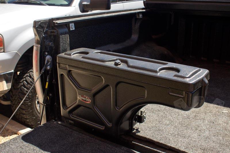 1997 2014 F150 Undercover Swing Case Storage Box Driver