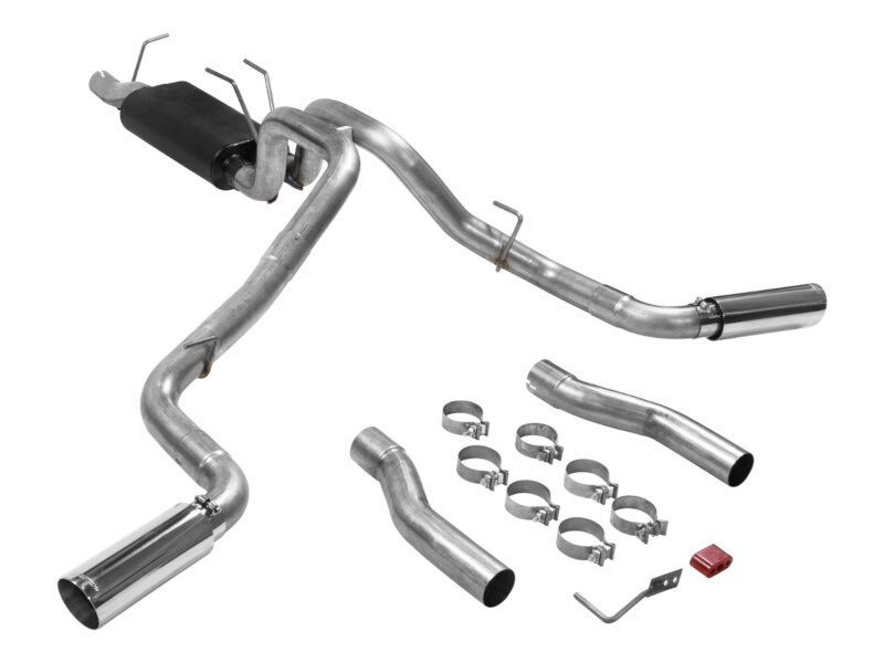 2017 2020 f250 f350 6 2l flowmaster force ii cat back exhaust system 817757