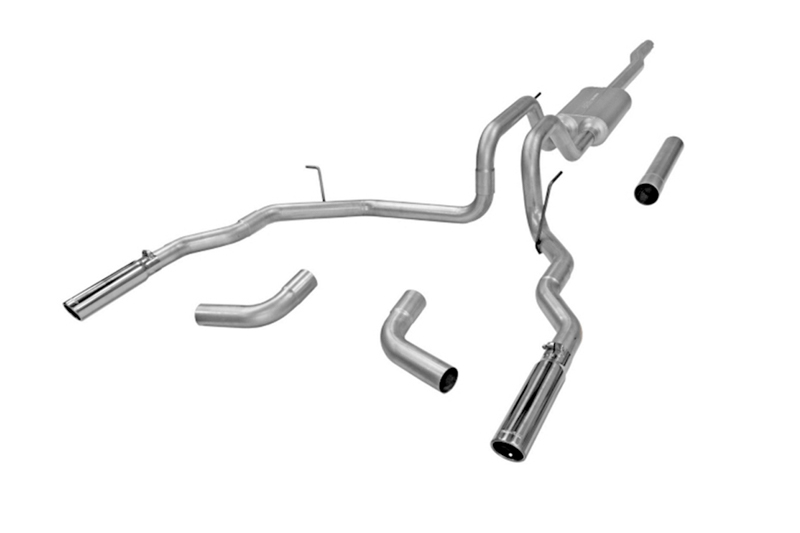F150 Flowmaster Force Ii Cat Back Exhasut Stainless