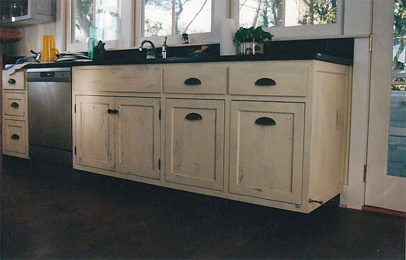 Distressed White Kitchen Cabinets Where To Buy Used Kitchen Cabinets