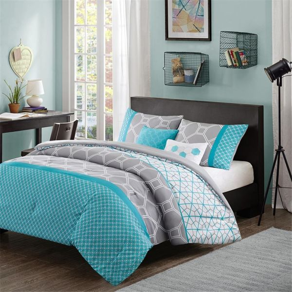 Teal Bedding Sets Queen - Home Furniture Design