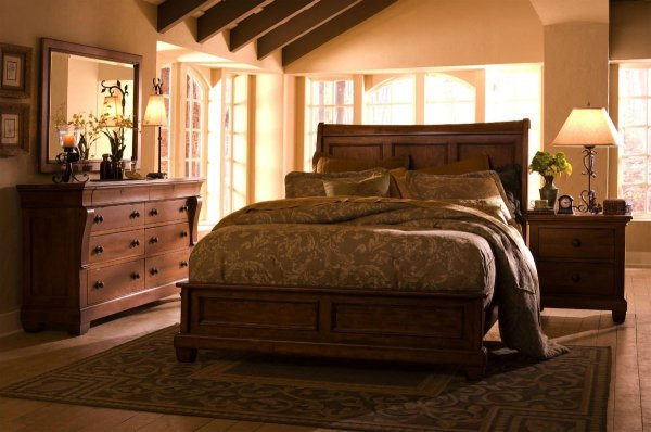 Solid Wood Queen Bedroom Sets - Home Furniture Design