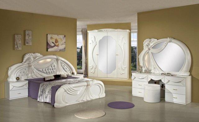 White Queen Bedroom Furniture Set - Home Furniture Design