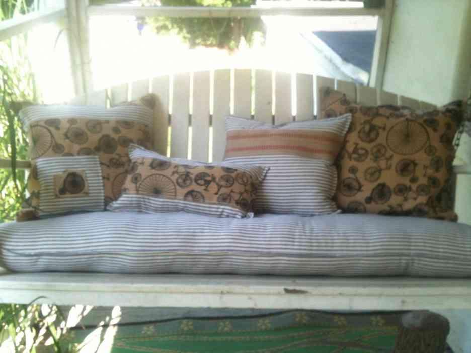 Made Measure Garden Bench Cushions