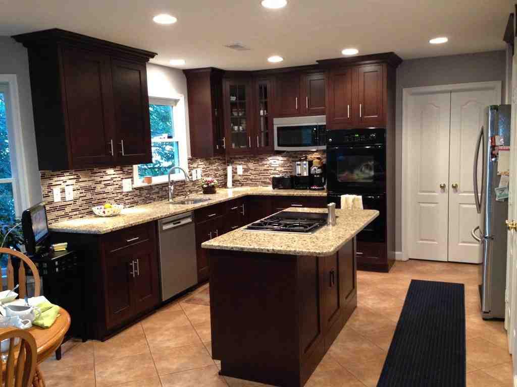 Dark Maple Cabinets - Home Furniture Design on Dark Maple Cabinets  id=70769