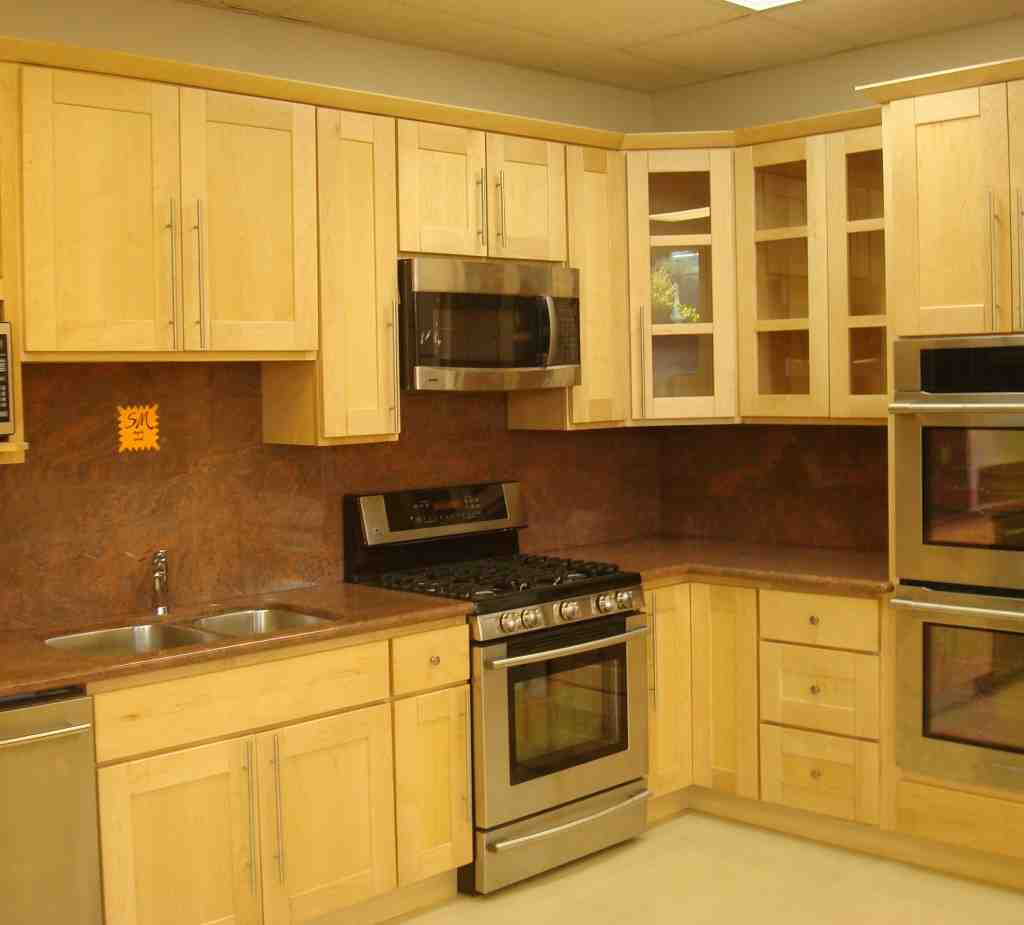 Light Maple Cabinets - Home Furniture Design on Maple Cabinets  id=46528