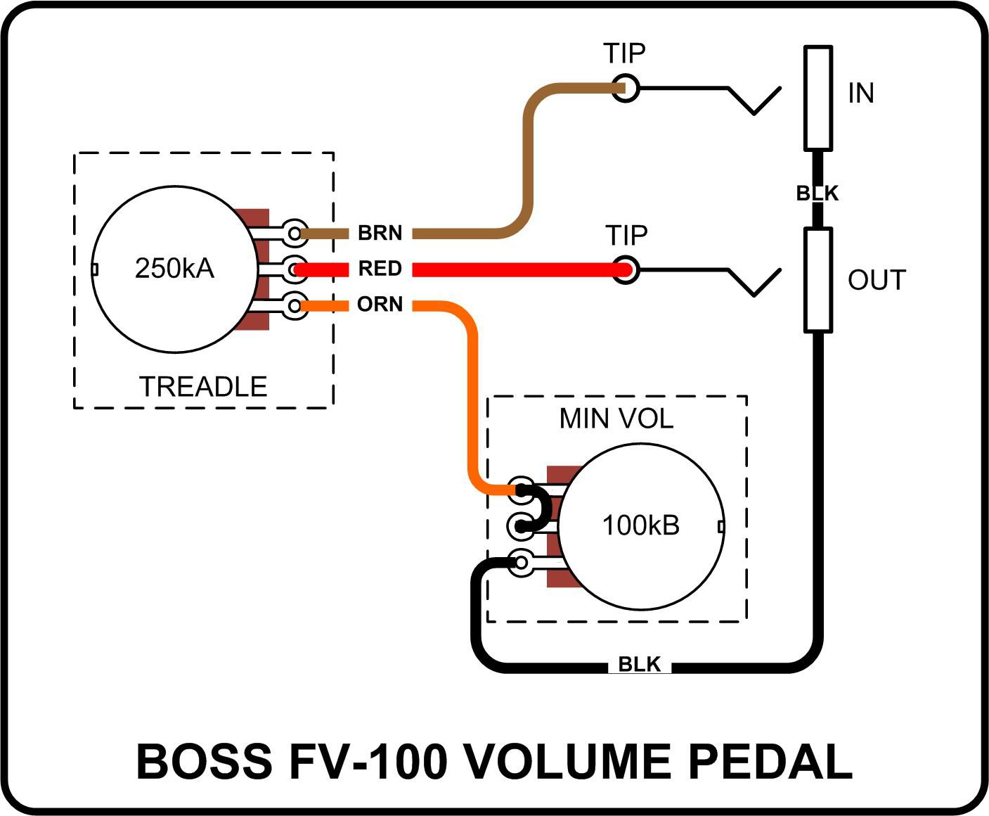 Looper Guitar Pedal Wiring Diagram