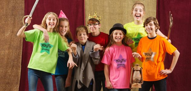 Teaching Acting Class for Young Kids