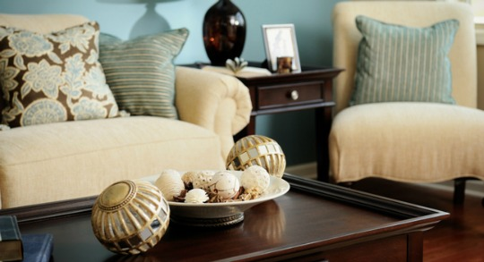 Image result for pictures of staging inside houses for spring and summer