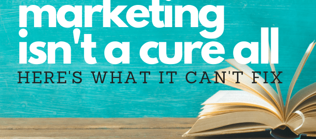 5 Things Book Marketing Can't Fix: Book Marketing Podcast Recap