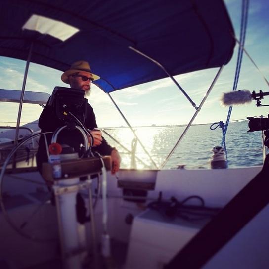"Bradford ""selfie"" interview on Boca Ciega Bay"