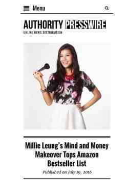 Mind and Money Makeover by Millie Leung