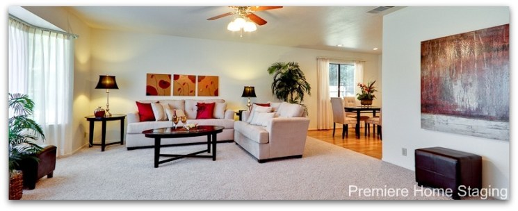 home staging pillows add color