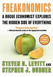 Freakonomics has lots of insight for home stagers