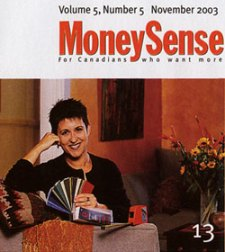 Debra Gould in MoneySense Magazine