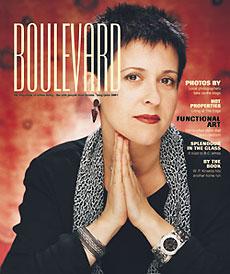 Debra Gould on Boulevard Magazine