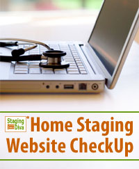 home staging website checkup