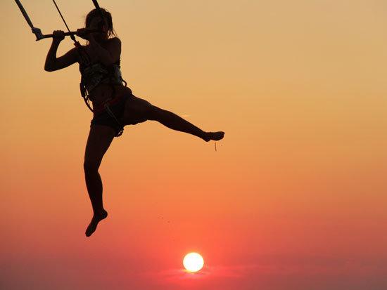 salto kitesurf