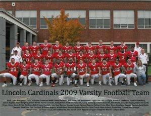 2009 LHS team photo.