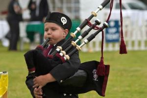 piper | young bagpiper | Portland Highland Games