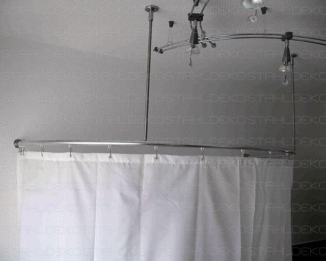 20mm round shower curtain rod