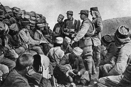 Französische Truppen auf Gallipoli