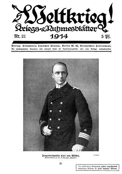 Fregattenkapitän Karl von Müller