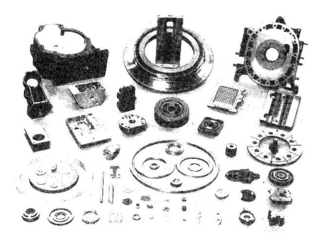 Lapped and Polished fine surface parts on single sided lapping machine
