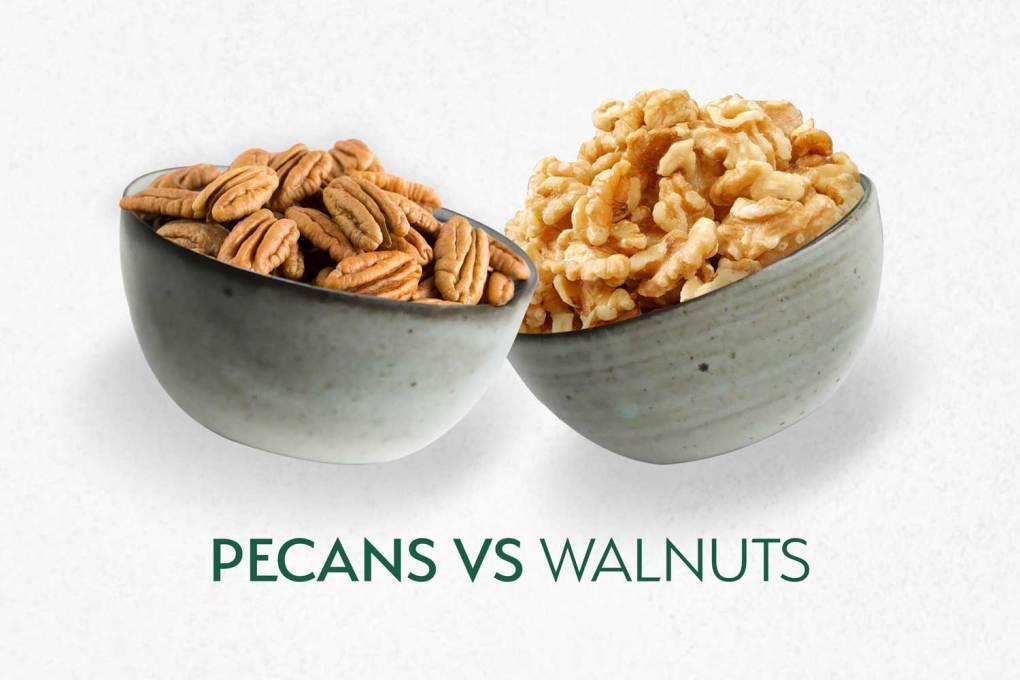 Pecans Vs. Walnuts
