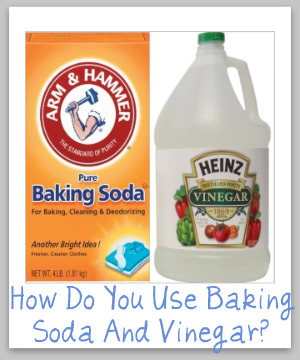 Baking Soda Vinegar Uses Together Around Your Home