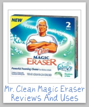 Mr Clean Magic Eraser Reviews Amp Uses For Stain Removal