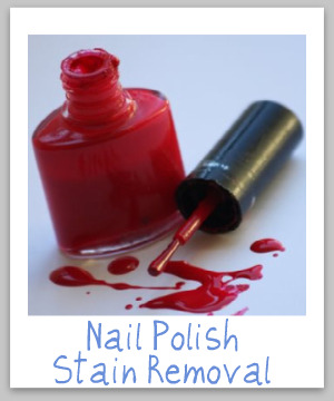 How To Remove A Nail Polish Stain From Upholstery