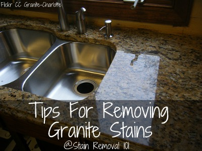 Tips For Removing Granite Stains From Countertops & More on Black Granite Stain  id=62119