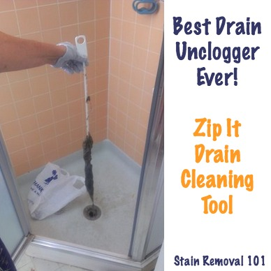 Simple Amp Chemical Free Drain Unclogger Zip It Drain