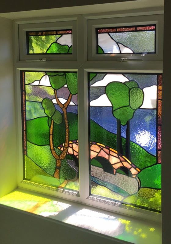 Stained Glass Work By Shelagh Davies Homepage