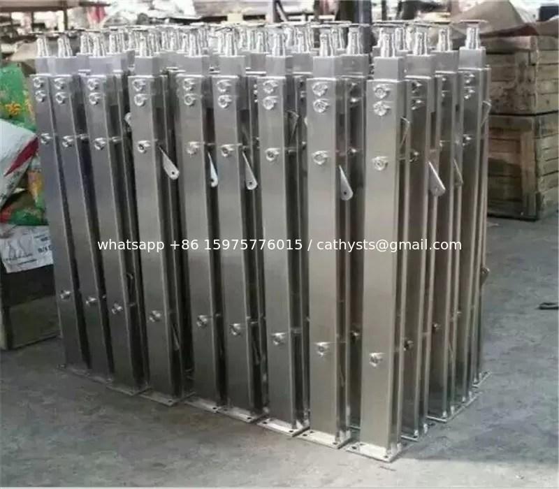 Modern Designs Metal Steel Pipe Stair Stainless Steel Handrail | Exterior Metal Stair Railing | Contemporary | Steel | Outdoor | Aluminum | Mild Steel