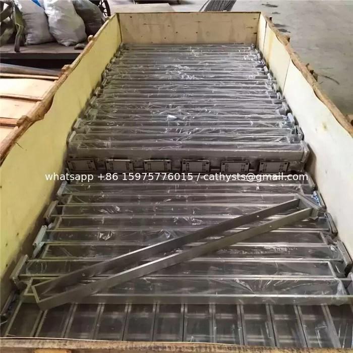 High Quality Factory Custom Stair Railing Design Frameless | Stainless Steel Staircase Railing Designs | Curved | Elegant | Balcony | Balustrade | Mono Stringer Steel