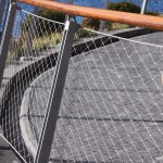 Wire Rope Mesh Netting For Balustrade Guardrail Deck Railing Hightop Metal Mesh
