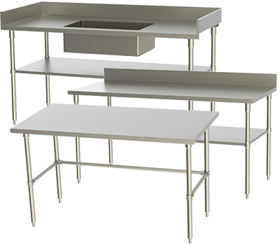 stainless supply stainless steel tables