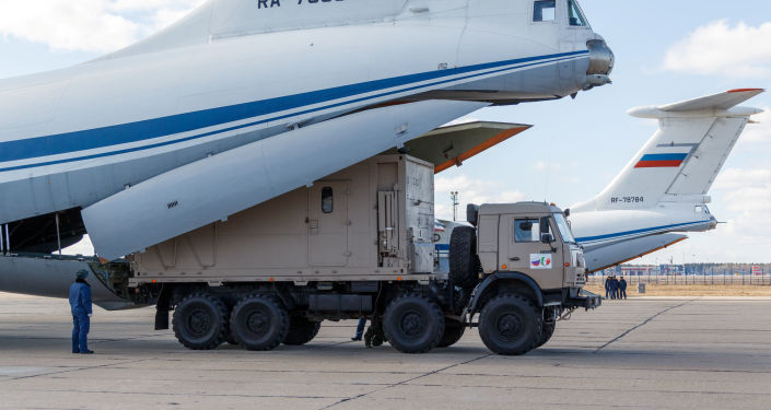 Russian Medical Aid Reaches Italy's Apulia Amid Pandemic