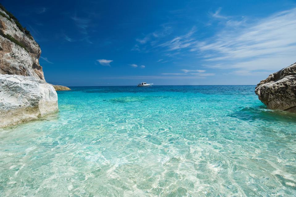 Cala Mariolu. Orosei Gulf. Baunei. Ogliastra. Sardinia. Italy