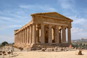 Atlas to guard the Temple of Zeus in Sicily again