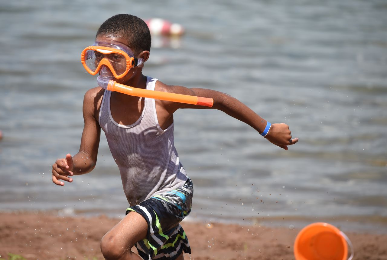 Jamesville Beach is open for swimming (photos)