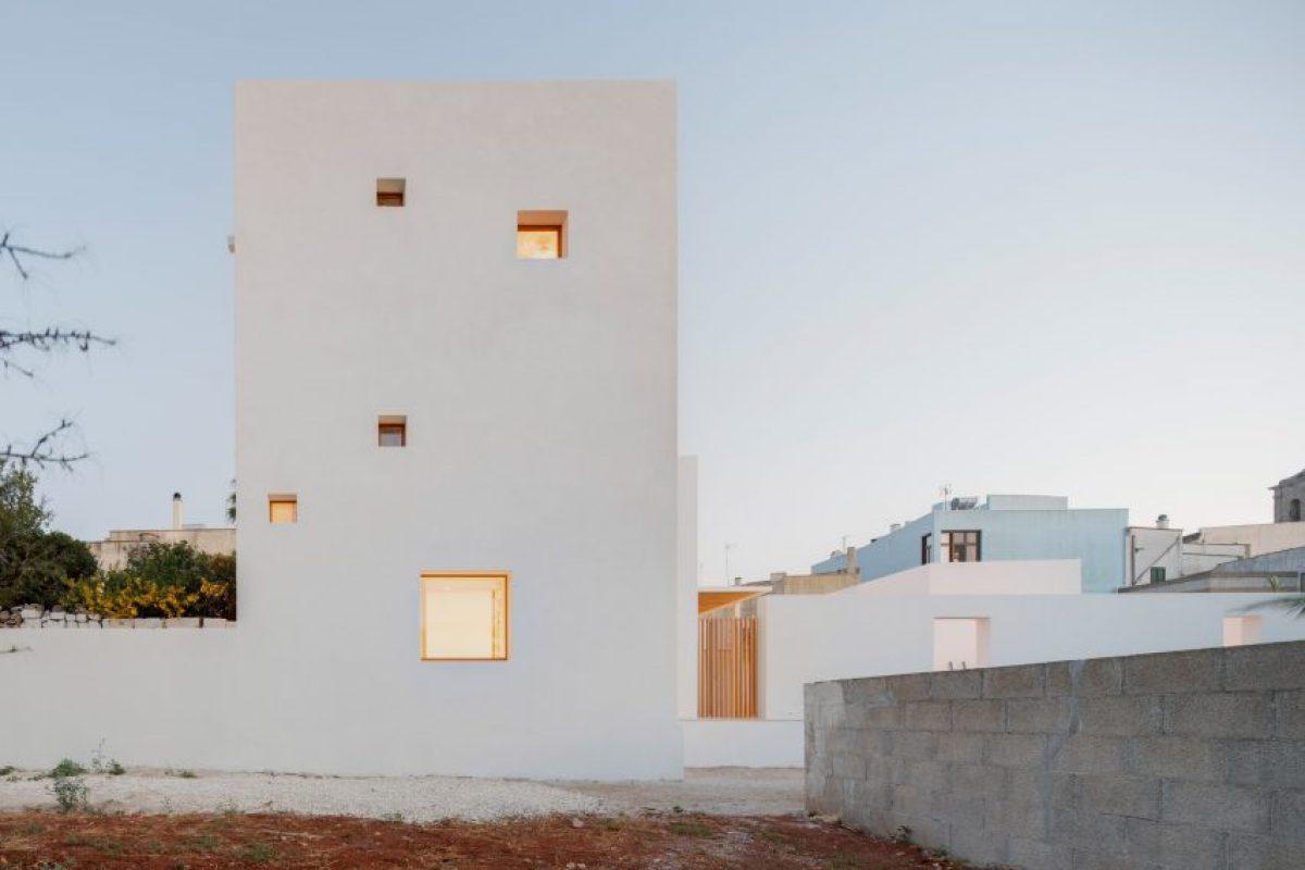 The White Tower Gagliano del Capo by DOS Architects